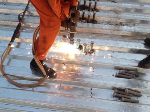 thru-deck-stud-welding